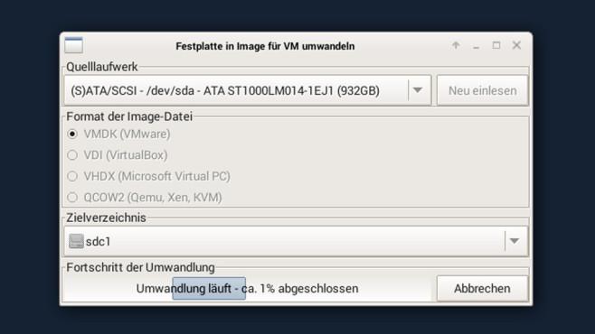 Festplatte virtualisieren ©COMPUTER BILD