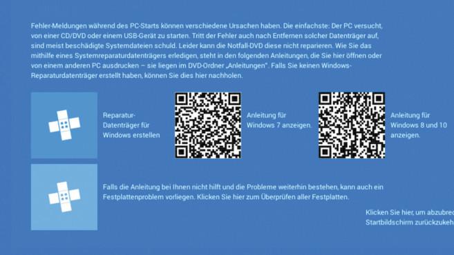 Hilfe am Smartphone lesen ©COMPUTER BILD