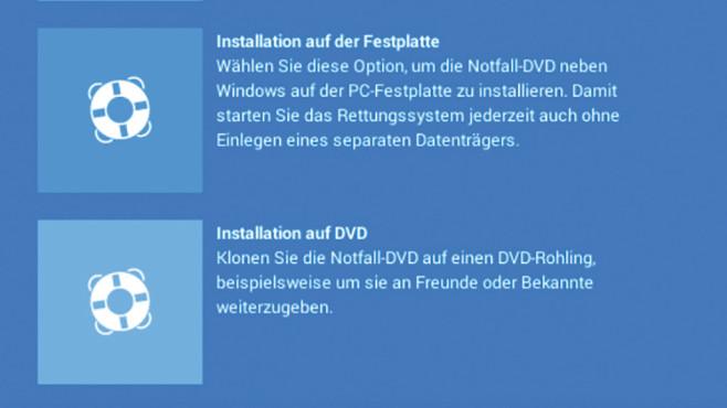 Notfall-DVD automatisch duplizieren ©COMPUTER BILD