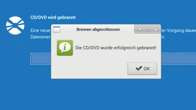 Notfall-DVD manuell duplizieren ©COMPUTER BILD