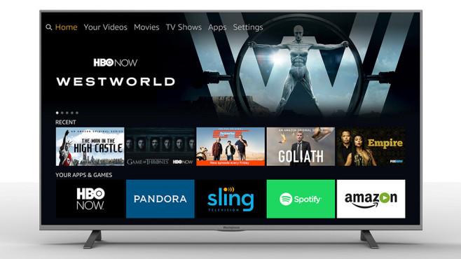 Fire-OS-Fernseher mit Amazon-Menü©Seiki