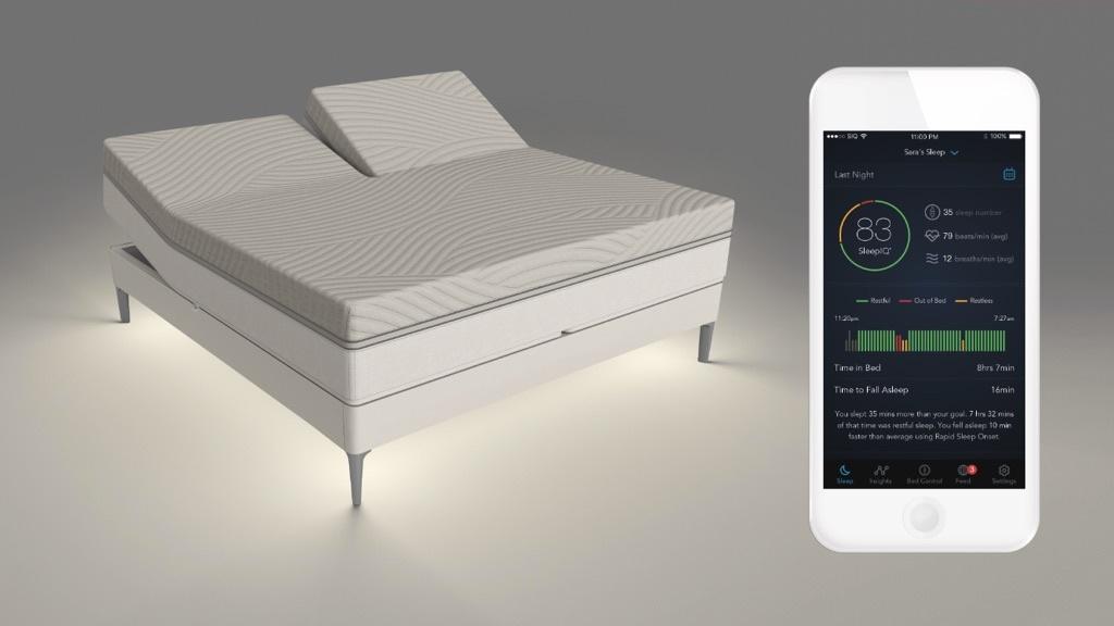 sleep number 360 das kl gste bett der welt computer bild. Black Bedroom Furniture Sets. Home Design Ideas