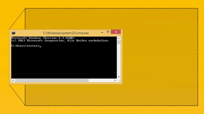 Windows 7/8/10: Kommandozeile maximieren Aufwendige Befehlseingaben verlangen nach maximaler Übersicht – Microsoft macht es Nutzern teils nicht leicht.©COMPUTER BILD