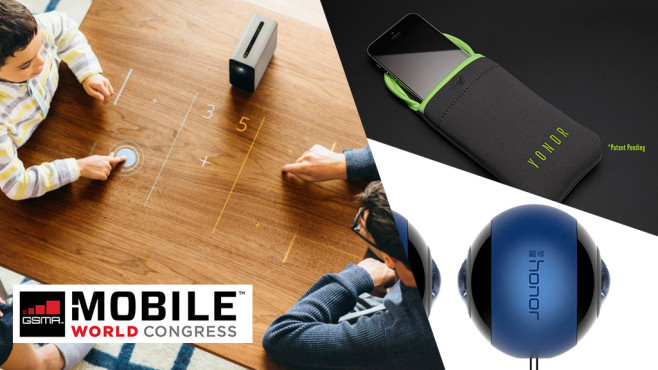 Die Gadget-Highlights des MWC 2017©MWC, Honor, Sony, Yondr