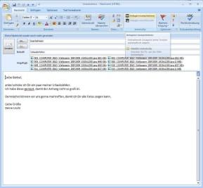 bxAutoZip für Outlook