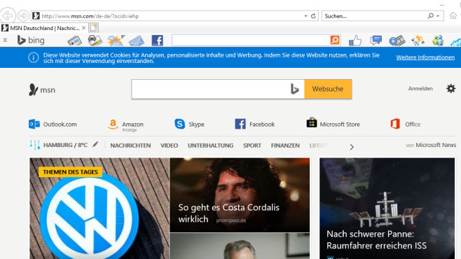 Internet explorer auf deutsch stellen
