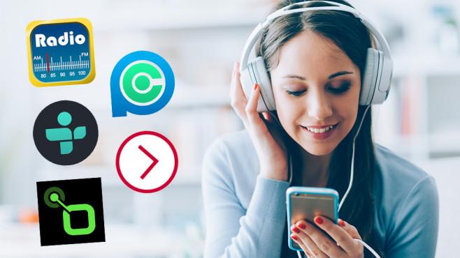 Vergleichstest von Internetradio-Apps©stokkete – Fotolia.com + App-Developer