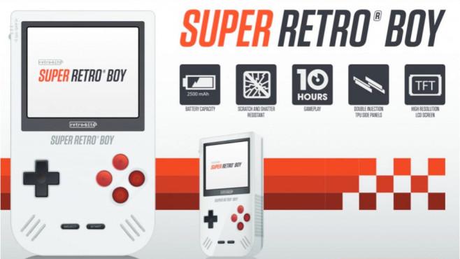 Super Retro Boy©Retro-Bit