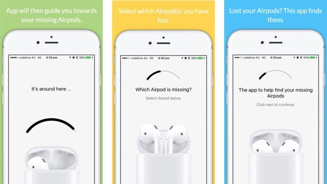 Air Pod Finder: App©Air Pod Finder