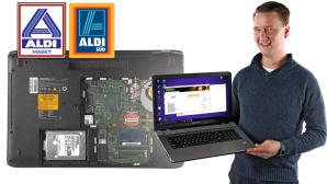 Aldi-Notebook Medion Akoya E7424 (MD60150)©COMPUTER BILD, Aldi Nord, Aldi Süd