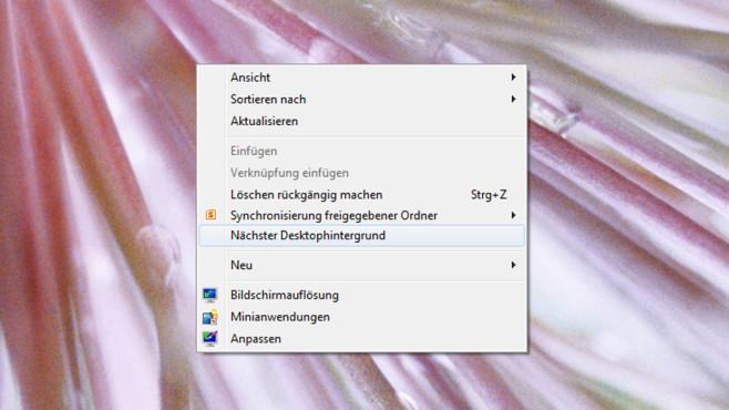 Desktop-Wallpaper sofort umschalten ©COMPUTER BILD