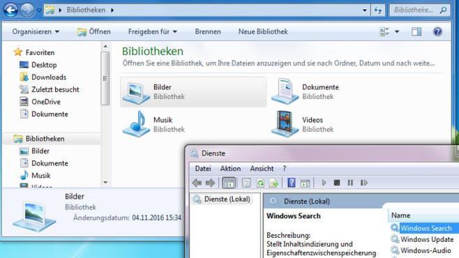 Suchdienst wegen Bibliotheken nicht lahmlegen ©COMPUTER BILD