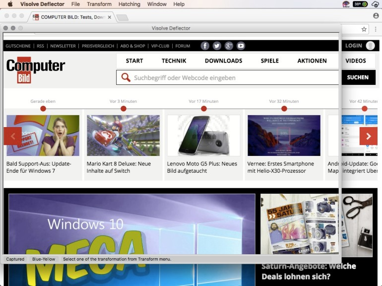 Screenshot 1 - Visolve (Mac)