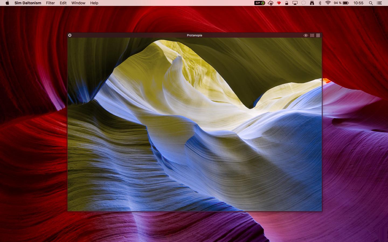 Screenshot 1 - Sim Daltonism (Mac)