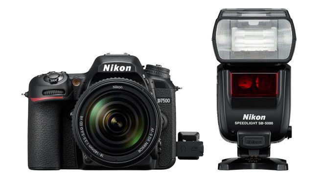 Nikon D7500 mit WR-T10 und SB-5000©Nikon