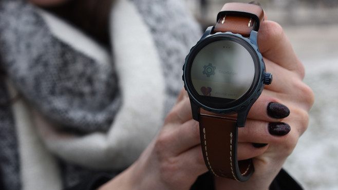 6e7c61540fea Smartwatch Fossil Q Marshal im Test - COMPUTER BILD