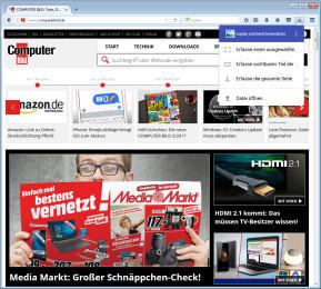 Explain & Send Screenshots für Firefox