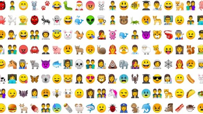 Android O Emojis©Google