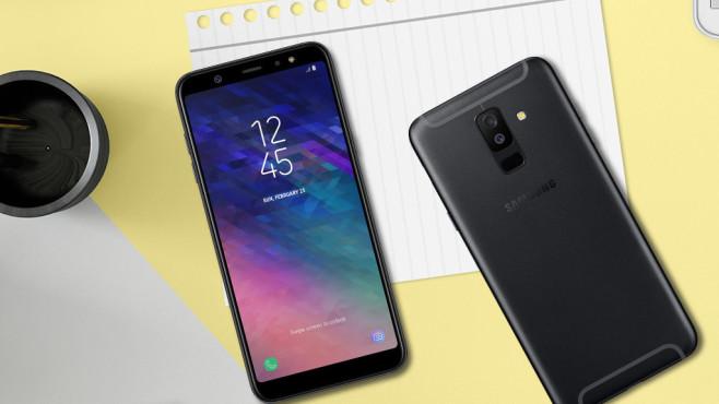 Samsung A6 Plus ©Samsung, iStock.com/ExperienceInteriors