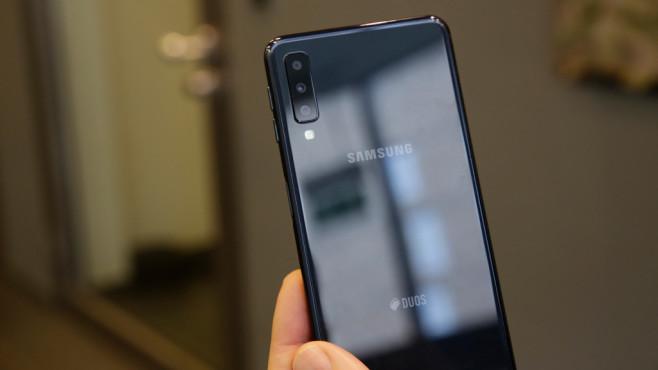 Samsung Galaxy A7 (2018) ©COMPUTER BILD