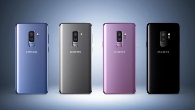 Samsung Galaxy S9 Plus ©Samsung