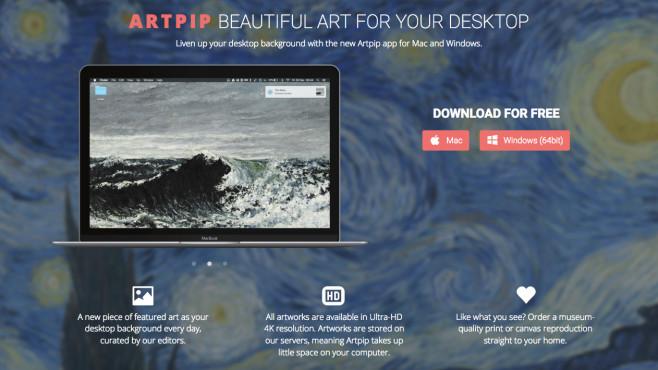 ArtPip Kunst für den Bildschirm©ArtPip Screenshot