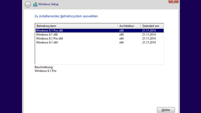 Windows 8.1 bedarf Nachbearbeitung (10) ©COMPUTER BILD