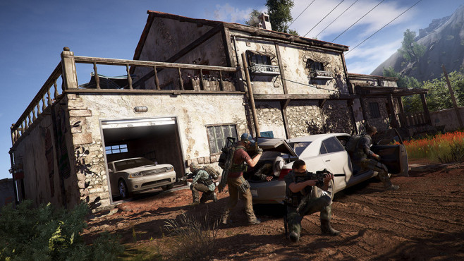 Ghost Recon – Wildlands: Autos © Ubisoft