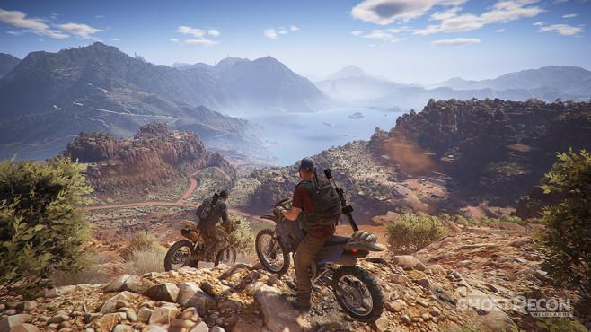 Ghost Recon – Wildlands: Motorräder ©Ubisoft