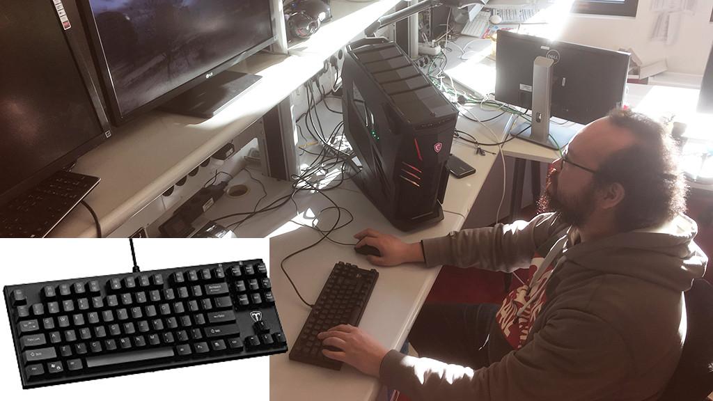 victsing i 500 test der gaming tastatur computer bild. Black Bedroom Furniture Sets. Home Design Ideas