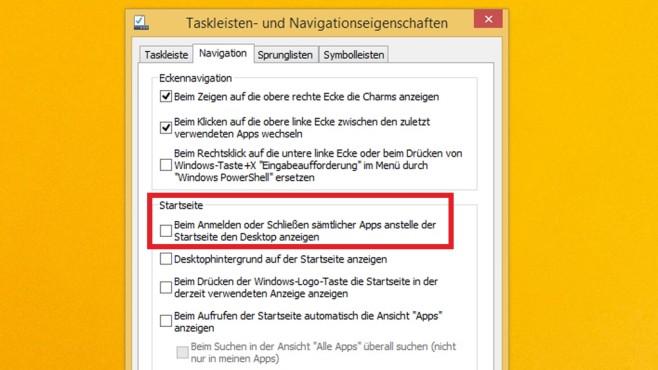 Kachel-Modus Windows 8.1 ©COMPUTER BILD