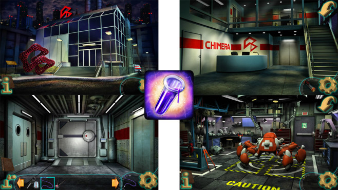 The Secret of Chimera Labs ©Aircamp Games