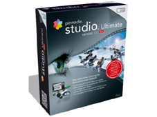 Pinnacle Studio Ultimate 11 Studio Ultimate 11: Das Programm bringt über 300 Titeleffekte mit.