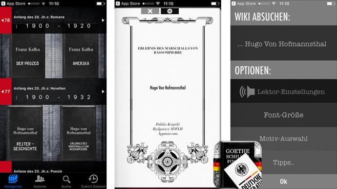 Deutsche Bücher – die Text-to-Speech Gesamtausgabe ©AppTsar