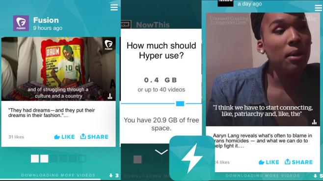 Hyper News – 100% Offline Videos ©AntiHero, Inc.