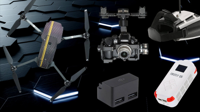 Drohnen-Zubehör©Mjaud-Fotolia.com
