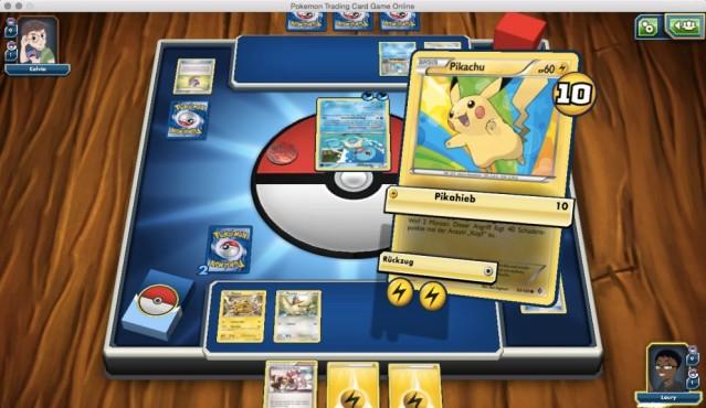 Pokémon Trading Card Game Online ©Pokémon/Nintendo