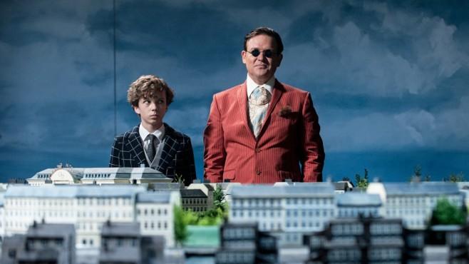 Filmszene Timm Thaler: Arved Friese, Justus von Dohnányi©Constantin Film Verleih GmbH/Gordon Mühle