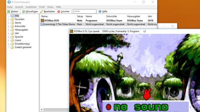 DOSBox: Spiele weiterhin betreiben ©COMPUTER BILD