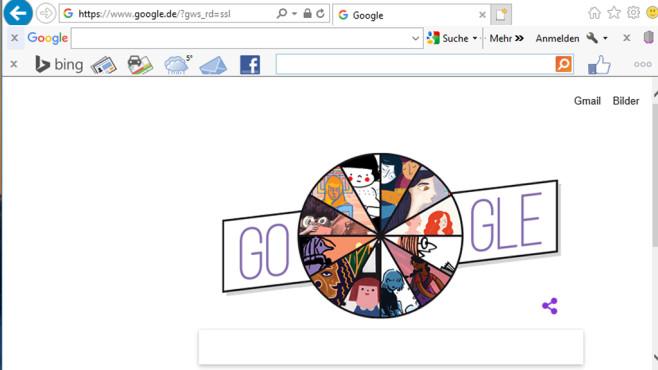 Google Toolbar und Bing Toolbar: Websuchen ausführen ©COMPUTER BILD
