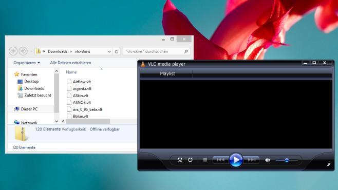 SkinPack für den VLC Media Player: Designpakete für den Alles-Abspieler ©COMPUTER BILD
