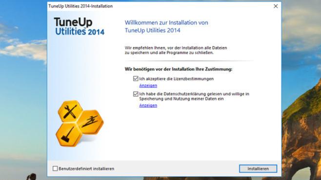 Tuneup Utilities 2014: Zuverlässige Optimierungssuite ©COMPUTER BILD