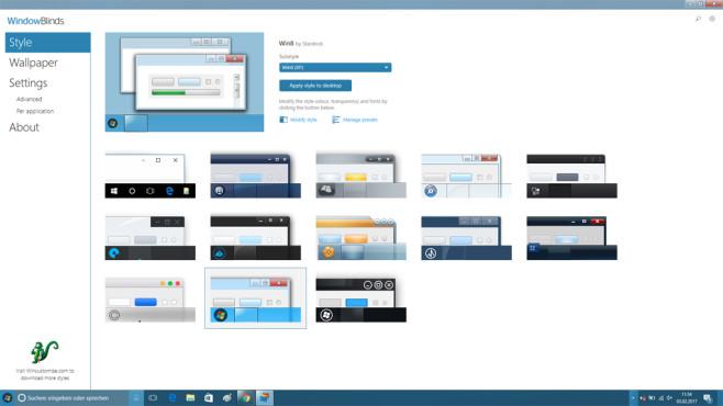 WindowBlinds (1): Optik von XP, Vista und mehr aktivieren ©COMPUTER BILD