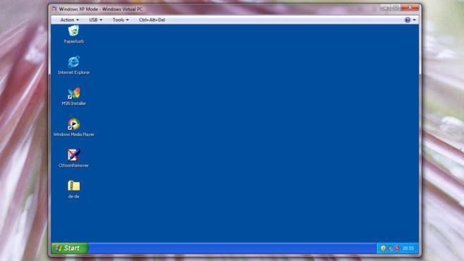 XP-Modus und VMLite: Älteste Anwendungen starten ©COMPUTER BILD