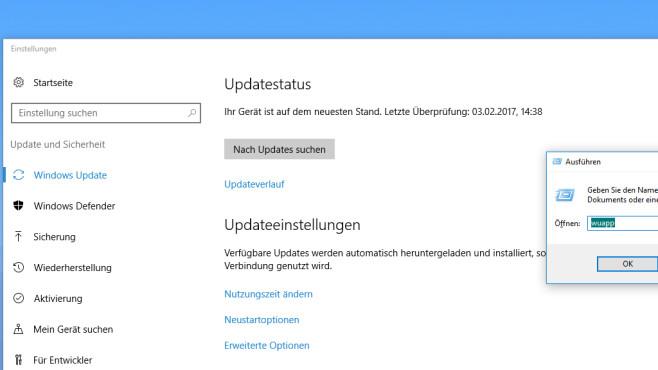 wuapp nachrüsten: Updates per altem Befehl laden ©COMPUTER BILD
