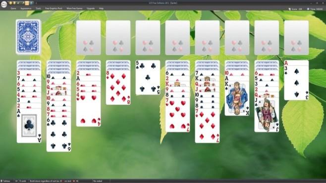 """Mahjong, Solitär & Co.: Beliebte Spieleklassiker als kostenloser Download Mit """"123 Free Solitaire"""" spielen Sie kostenlos die beliebtesten Solitär-Varianten.©TreeCardGames"""