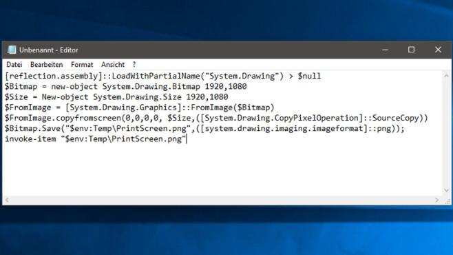 Windows 7/8/10: Eigenes Screenshot-Tool programmieren©COMPUTER BILD