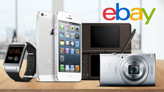 Ebay-Schwacke-Liste©istock.com/peshkov, Apple, Samsung, Canon, Nintendo