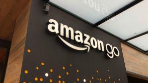 Das Logo der Amazon-Go-Filiale in Seattle©COMPUTER BILD