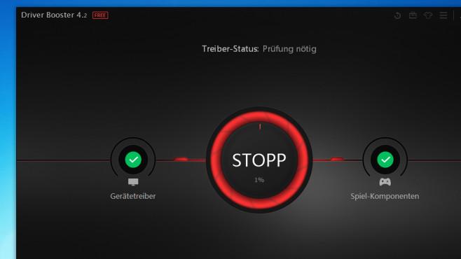 Driver Booster Free: Treiber automatisch updaten ©COMPUTER BILD